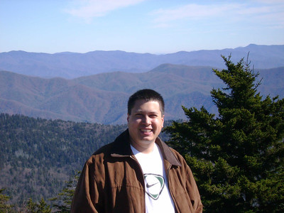 Michael at Clingmans Dome