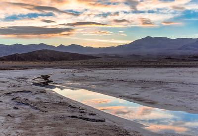 Sunrise at Cotton Ball Basin