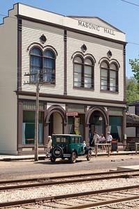 Masonic Hall - Fort Edmonton