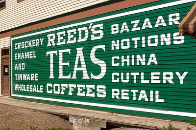 Reed's Bazaar and Tea Shop - Fort Edmonton