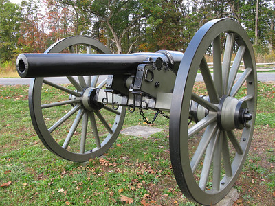 A Cannon at Gettysburg  -   by P. Saavedra