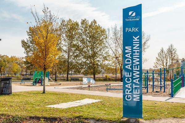 Grace Adam Metawewinihk Park