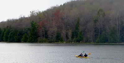 Hemlock Lake Kayakers - May 2015