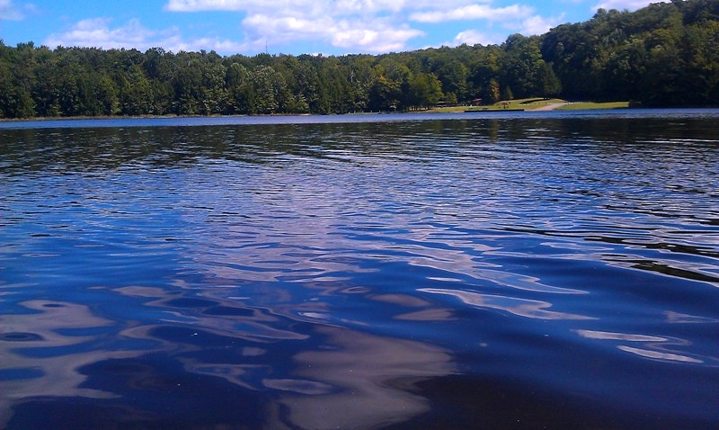 Blue Waters at Hemlock Lake