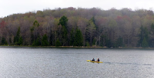 Double Kayak at Hemlock Lake