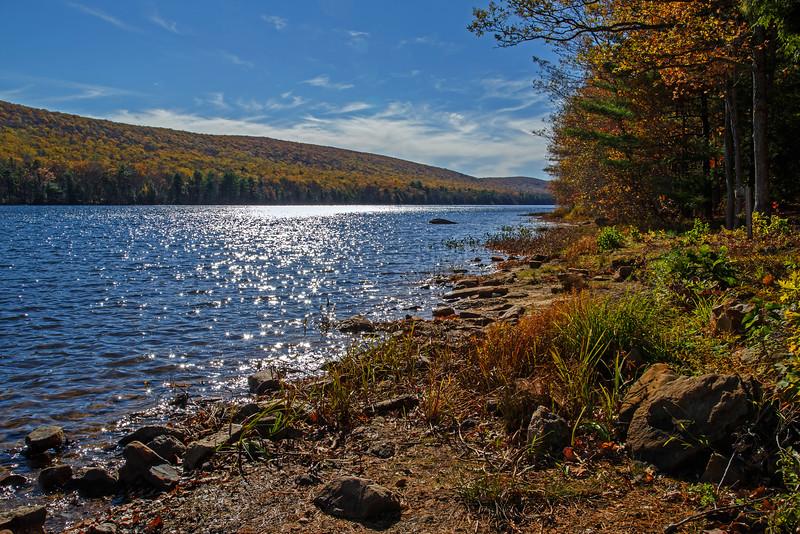 Mauch Chunk Lake - Carbon County, PA - 2014