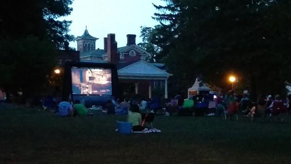 Movie Night at Memorial Park