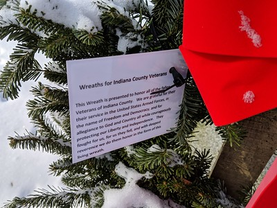 Wreaths fro Indiana County Veterans