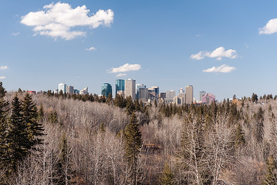 Edmonton from Mill Creek Ravine Bridge
