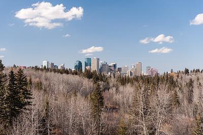 Edmonton from Mill Creek Ravine Bridge