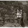 Dutch Girls on a Bridge (00325)