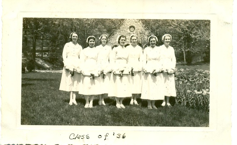 Nursing School Graduation 1936 (06639)