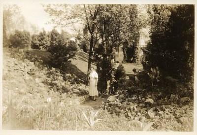 Woman in Miller Park (00232)
