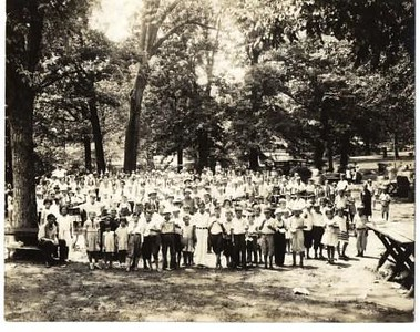 Salvation Army Picnic with Children (00239)