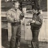 Two Boys and a Kodak Brownie Camera (00129)