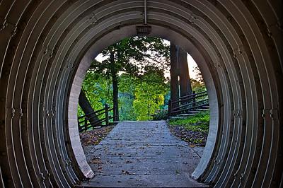Hubbard Park Entrance