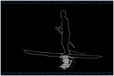 Surf @Water Outline