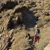 my bro, the hiker...<br /> <br /> N. Lykken Trail, <br /> Palm Springs, CA