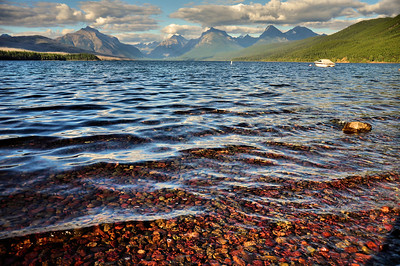 Lake Mcdonald from Apgar Village