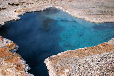 Abyss pool at the West Thumb Geyser Basin