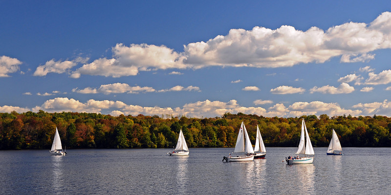 Lake Nockamixon State Park - Bucks County, PA - 2013