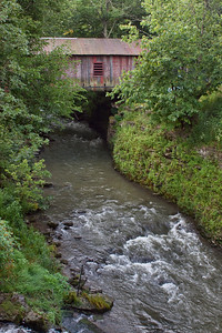 Covered Bridge at the Mill