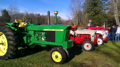 Tractor Display at Smicksburg