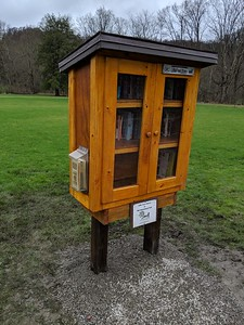 Little Free Library at Old Smicksburg Park