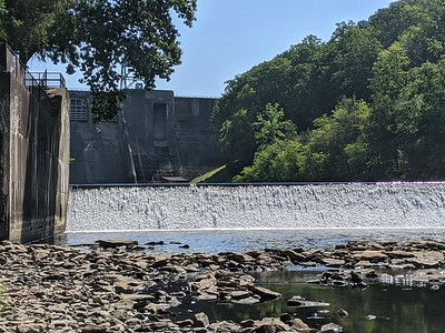 Spillway at Mahoning Dam