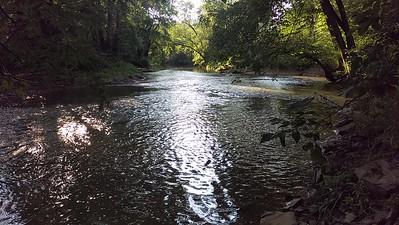 Summer Evening on Little Mahoning Creek