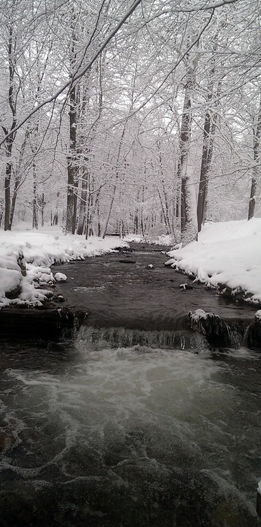 Winter Waterfall on Tom's Run