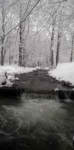 Winter Waterfall on Tom's Run