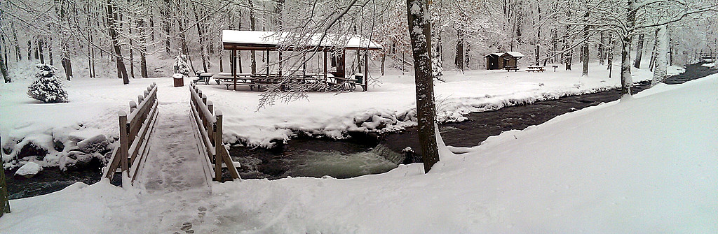 Tom's Run Panorama - Pine Ridge Park - Blairsville, PA