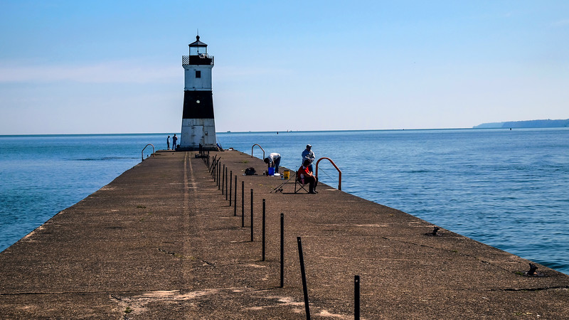 Channel Lighthouse - Presque Isle State Park - Erie, PA - 2019