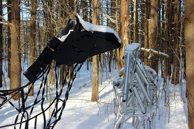 Sculpture Park in Winter