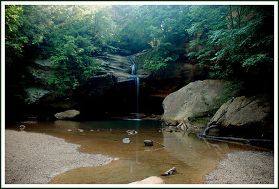 Lower Falls at Hocking Hills