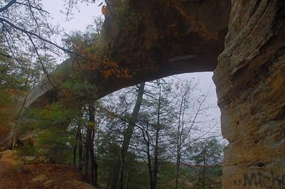 Under sky bridge