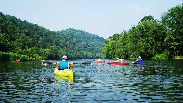 Kayaking the Conemaugh - Tunnelview to Saltsburg