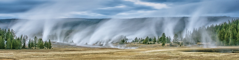 Steam Vents at Upper Geyser Basin