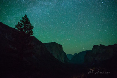 Glow in Yosemite Valley