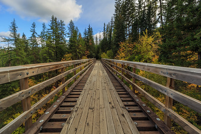 Autumn At Trestle 1 - Southward