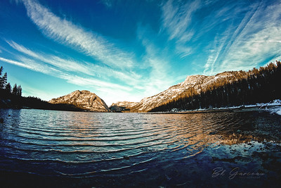 Ripples on Tenaya Lake