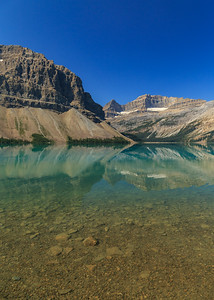 Bow Lake Vertical Reflecitons
