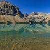 Bow Lake Vertical Reflecitons