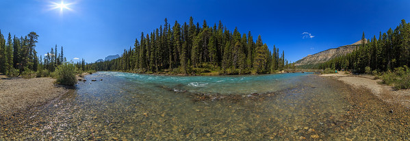 Waterfowl Lakes Stream 180