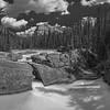 Natural Bridge Black and White 2017- Yoho NP