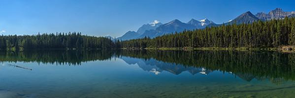 Hebert Lake Panoramic 1:3 Crop (12x36)