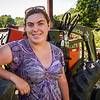 Caroline Parlee, of Parlee's Farm in Chelmsford, says the strawberry crop this year has a low yield due to animals eating the early plants and the shifting of the growing seasons due to climate change.   When there is a good strawberry season, there typically is a poor blueberry season, and vice versa.  SUN/Scot Langdon