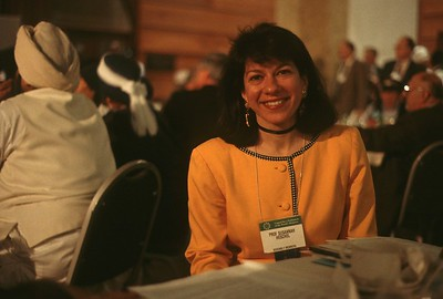 Susannah Heschel at the 1993 Parliament of the World's Religions (Chicago, IL)