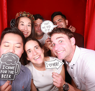 Parmelia Hilton Staff Party Photobooth Photos